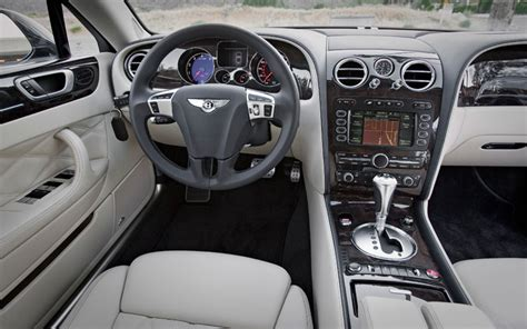 bentley continental flying spur interior bentley continental flying spur speed first test motor trend