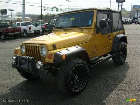 Inca Gold Jeep Wrangler 2003 Inca Gold Metallic Jeep Wrangler Sport 4x4 46937022