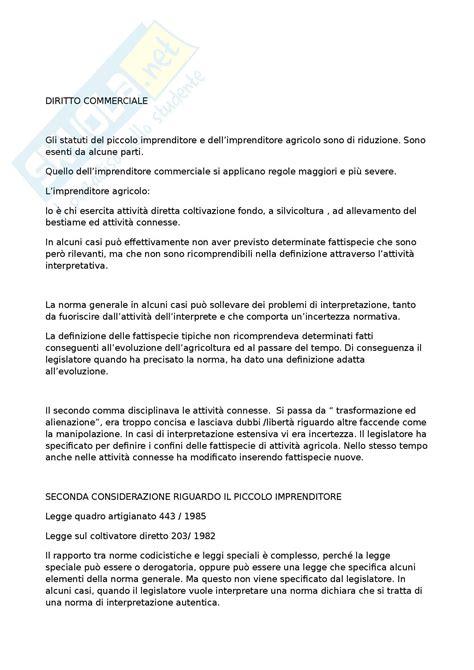 Diritto Commerciale Dispensa by Diritto Commerciale Appunti E Lezioni