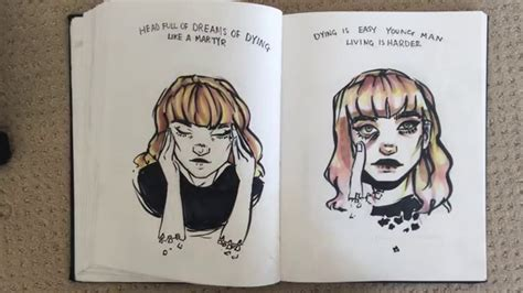 sketchbook tour sketchbook tour pt 1