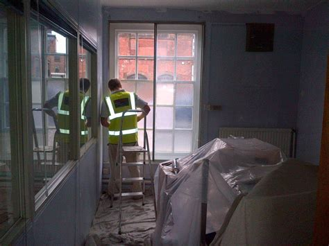 office decorators office painters painter and decorator nottingham paul