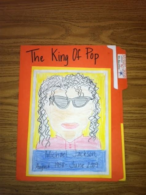 File Folder Biography Book Report by Biography Folder Make These For Important And The Class All Do An Assignment On That