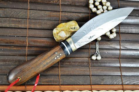 Custom Handmade - custom handmade damascus knife perkin