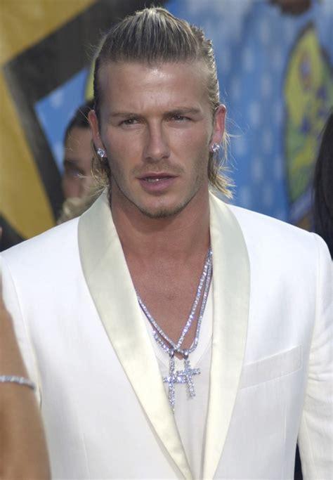 David Beckham Hairstyle Evolution Pictures