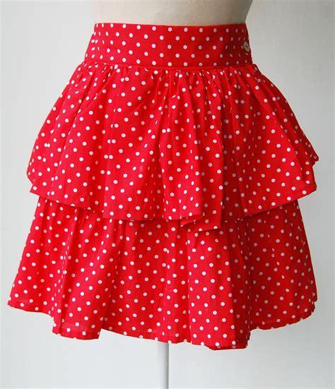 rara skirt polkadot 1980 s vintage rara skirt 1980 s what did