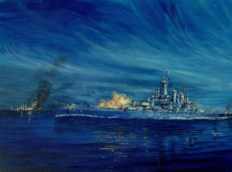 uss jersey sinks island u s s washington sinks japanese battleship on november 15
