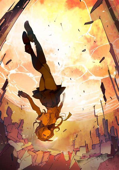 Anime Art Falling Best 25 Girl Falling Ideas On Pinterest