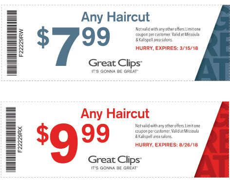 haircut coupons orlando great clips coupon um student survival kit