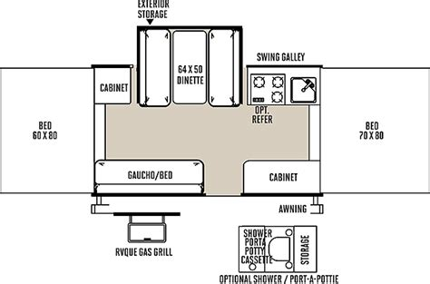 cervan floor plans cers floor plans rockwood tent cers floor plans carpet