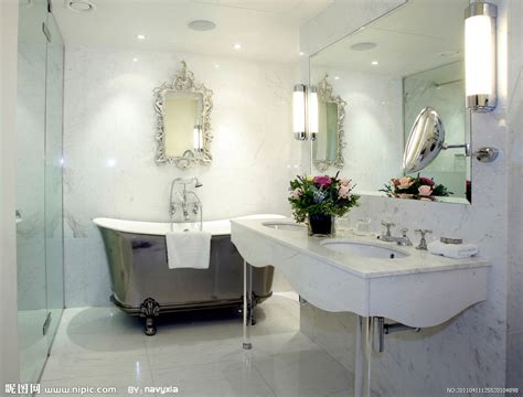 white vanity the old and home on pinterest 浴室摄影图 室内摄影 建筑园林 摄影图库 昵图网nipic com