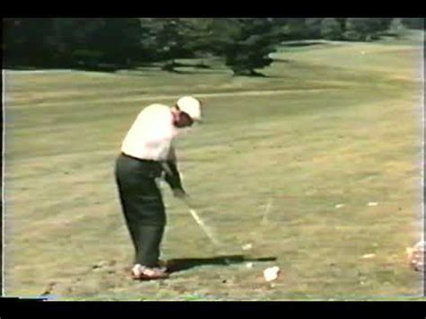 golf swing ben hogan ben hogan golf swing 1956 hogan invented practice for