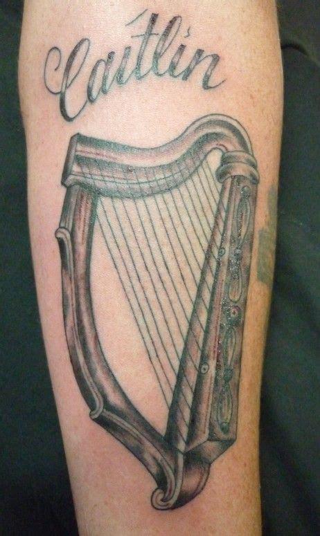 irish harp tattoo designs 37 best images on