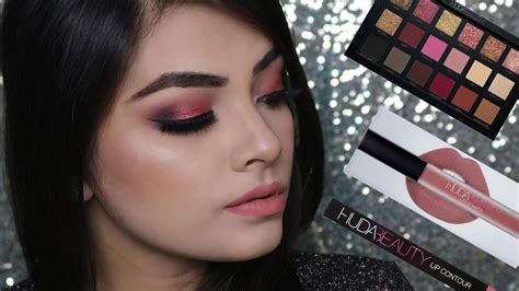 Eyeshadow Huda huda gold palette eye makeup tutorial glamistic