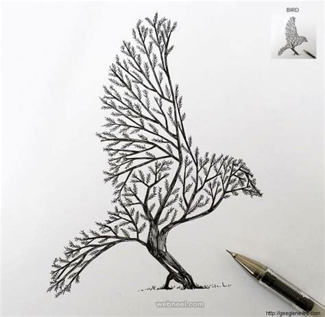 creative tree ideas 30 beautiful tree drawings and creative ideas from top