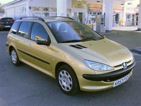 gold peugeot peugeot 206 sw estate used car costa blanca spain