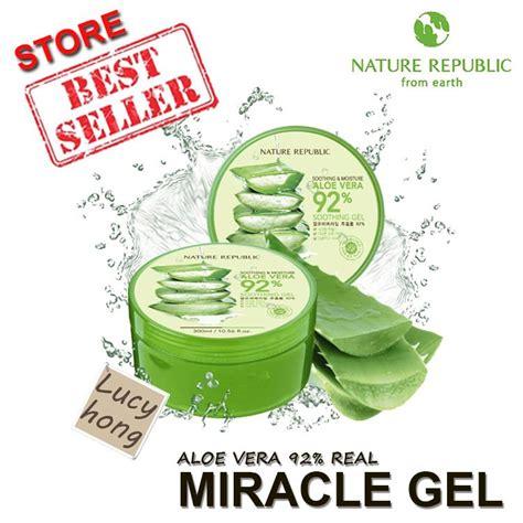 Nature Republic Aloe Vera Soothing Gel Exo nature republic moisture aloe vera 92 soothing ge end 11