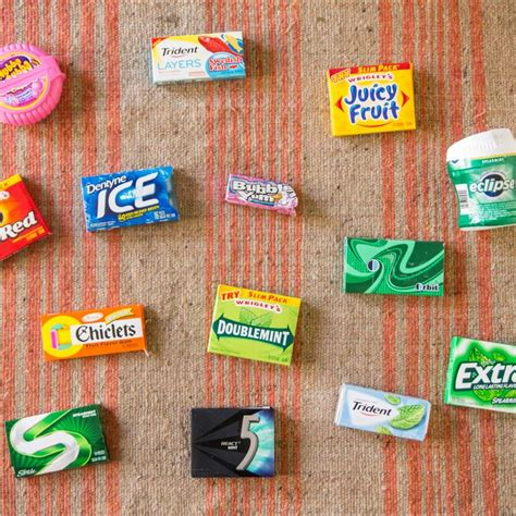 chewing gum brands 17 best ideas about chewing gum brands on pinterest