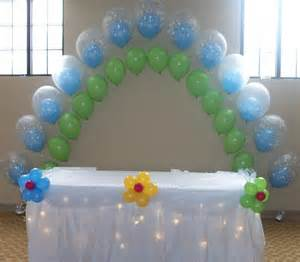 balloon decorations baby shower favors ideas
