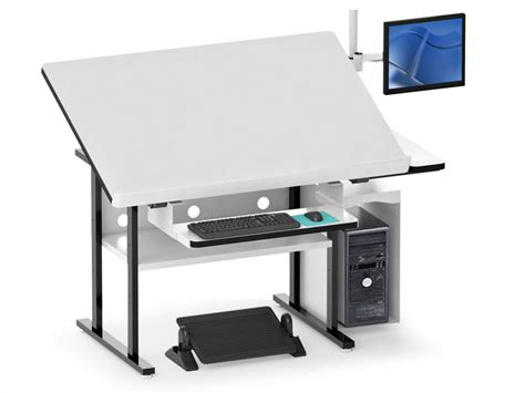 drafting table computer workstation drafting table computer workstation home design ideas