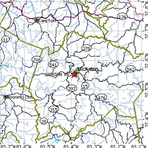 jackson kentucky map jackson kentucky ky population data races housing