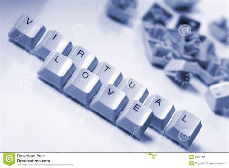 imagenes de amor virtual amor virtual foto de archivo imagen 5353140