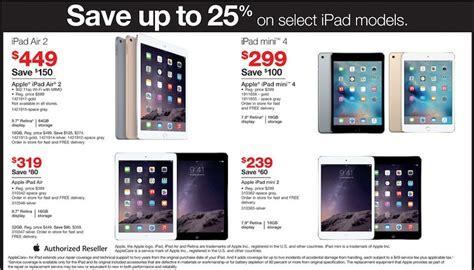 apple ipads best price best black friday 2015 sales for apple air mini