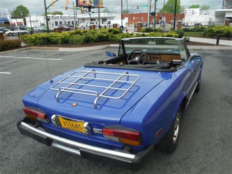 1981 Fiat Spider For Sale 1981 Fiat 124 Spider Convertible 2 Door 2 0l For Sale
