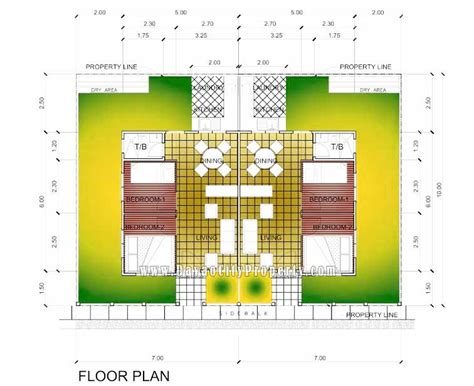 subdivision floor plan low cost housing at granville subdivision catalunan peque 241 o