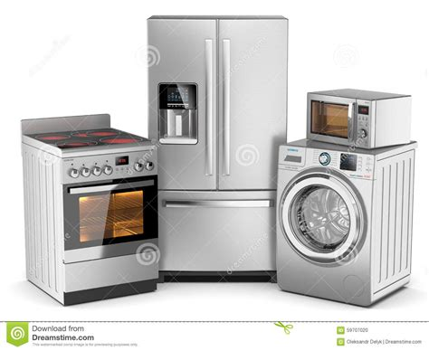 house appliances home appliances stock illustration image 59707020