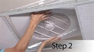Ceiling Tile Exhaust Fan The Tile Fan