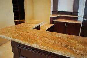 Granite Bar Tops by Granite Countertop Designs For Kitchens Imperial Gold
