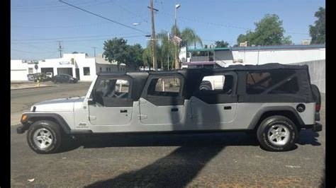 Jeep Limo Wth It S A Six Door Jeep Wrangler Stretch