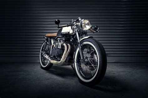 honda cb350 brat by purpose built moto bikebound