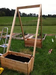 Vertical Garden Beds Diy Weekend Project Vertical Garden Beds Diydiva