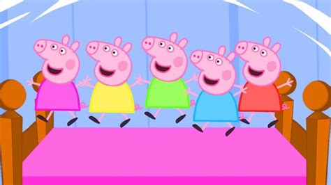 five little piggies jumping on the bed 29 best images about peppa pig on pinterest activities
