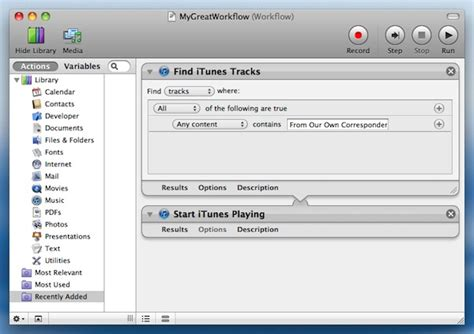 mac workflow software how to run an automator workflow to a schedule