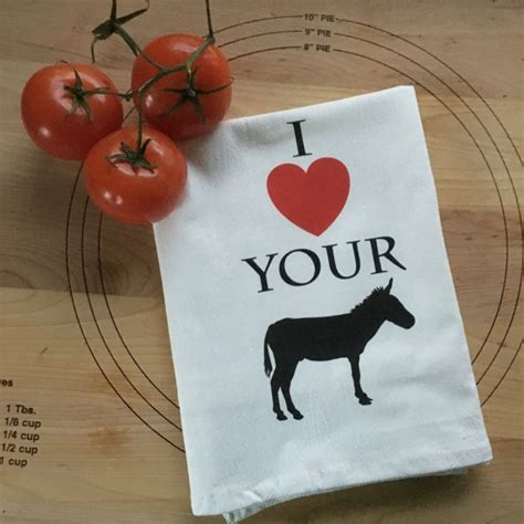 Other Words For Handmade - your quot quot tea towel handmade unique gift