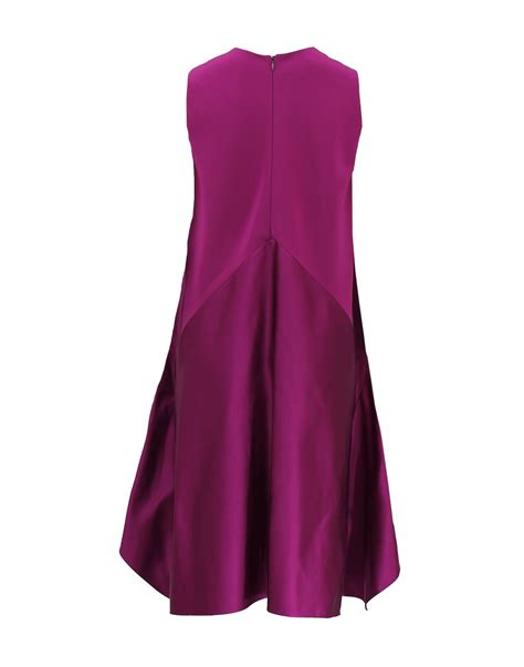 Who Wore It Better Narciso Rodriguez Lavender Tie Dress by Narciso Rodriguez Sleeveless Duchess Bottom Crewneck Dress