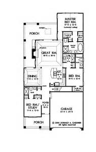 house plans for a narrow lot 25 best ideas about narrow house plans on