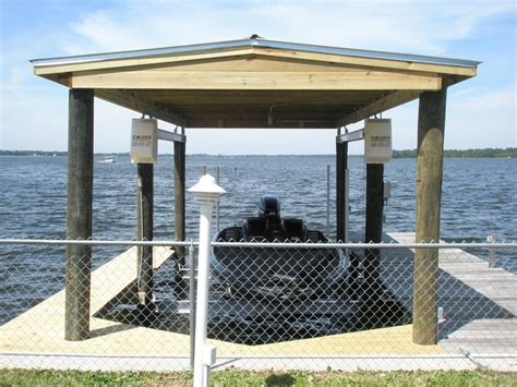how to build a boat dock roof docks roofs coastal construction