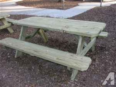 Handmade Picnic Tables For Sale - fs handcrafted picnic tables jacksonville metro for