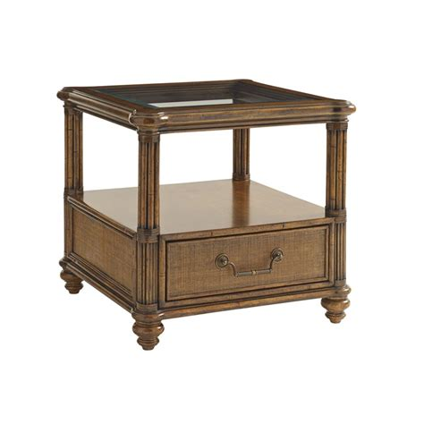 Bahama End Tables by Bahama Bali Hai Bimini Square End Table In Warm