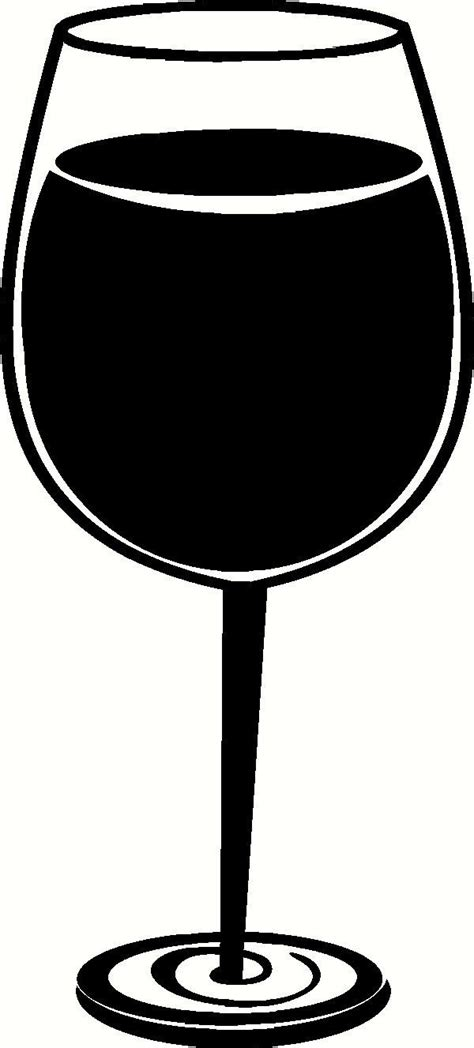 wine glass silhouette clipart wine glass cliparts co