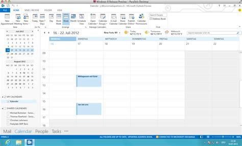outlook kalender layout microsoft stellt office 2013 vor consumer preview zum