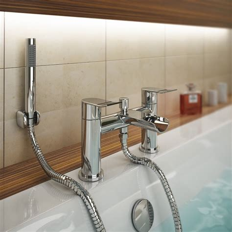 waterfall bath taps with shower waterfall bath shower mixer with shower kit chrome