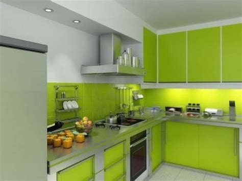 sustainable kitchen design muebles de cocina de color verde