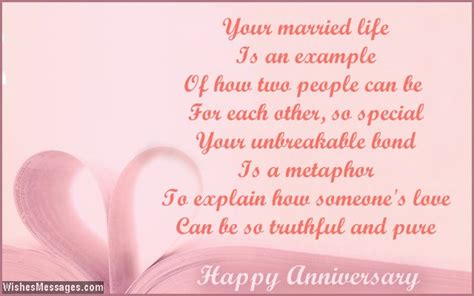 30th Wedding Anniversary Card Verses by 25th Anniversary Poems Silver Wedding Anniversary Poems