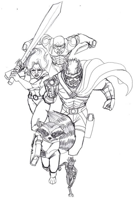 www full guardians of the galaxy coloring pages search results