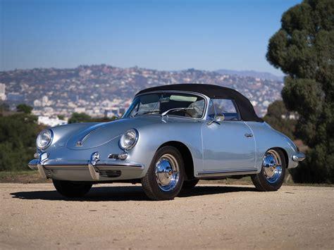 Porsche 356 B by Porsche 356 B 1600 Cabriolet 1960