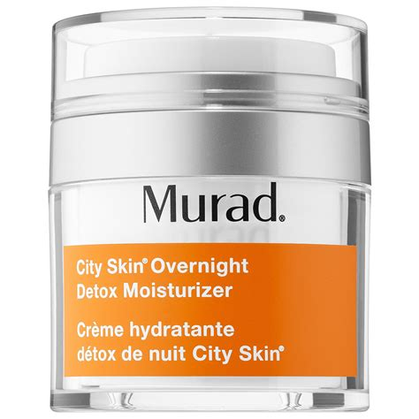 Murad Overnight Detox Moisturizer by These Overnight Products Do All The Work So You Don T